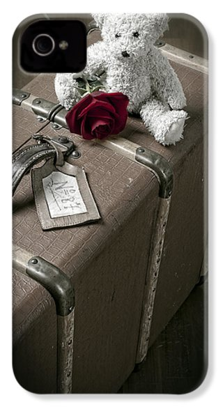 Teddy Wants To Travel IPhone 4s Case by Joana Kruse