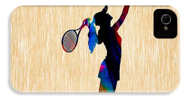 Tennis Game IPhone 4s Case by Marvin Blaine