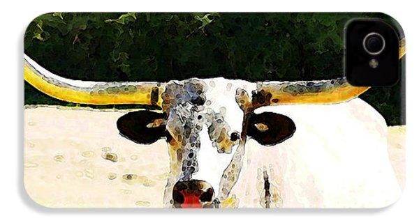 Texas Longhorn - Bull Cow IPhone 4s Case