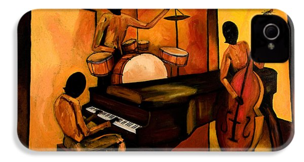 The 1st Jazz Trio IPhone 4s Case by Larry Martin