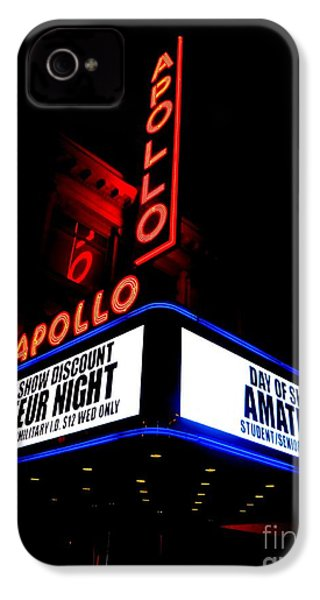 The Apollo Theater IPhone 4s Case by Ed Weidman