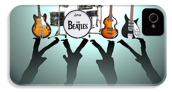 The Beatles IPhone 4s Case by Lena Day