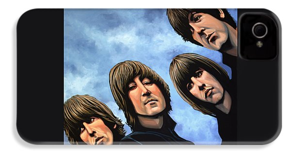 The Beatles Rubber Soul IPhone 4s Case by Paul Meijering
