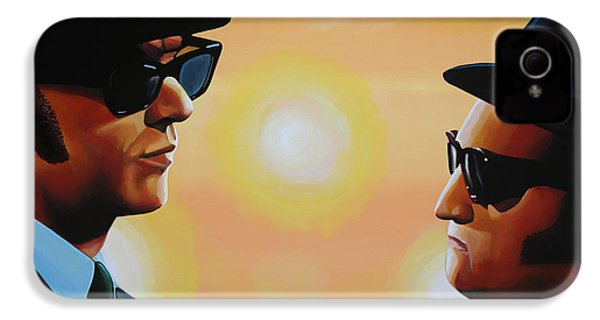 The Blues Brothers IPhone 4s Case by Paul Meijering