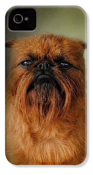 The Brussels Griffon IPhone 4s Case by Jai Johnson