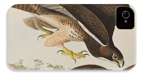 The Common Buzzard IPhone 4s Case by John James Audubon