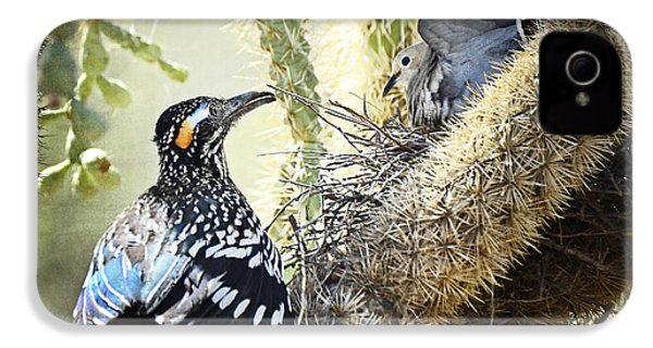 The Dove Vs. The Roadrunner IPhone 4s Case by Saija  Lehtonen