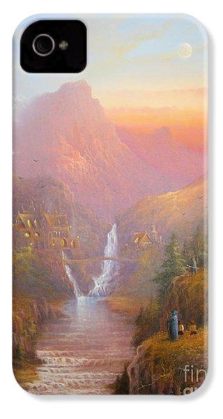 The Fellowship Of The Ring IPhone 4s Case by Joe  Gilronan