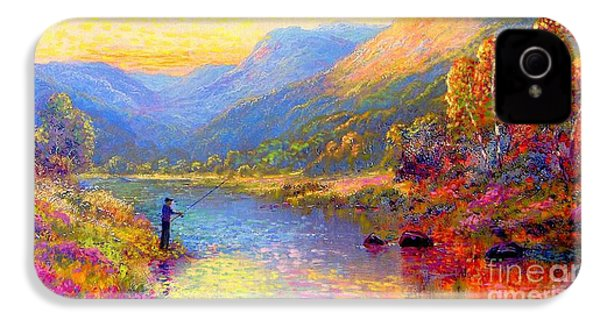 Fishing And Dreaming IPhone 4s Case by Jane Small