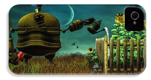 The Gardener IPhone 4s Case by Bob Orsillo