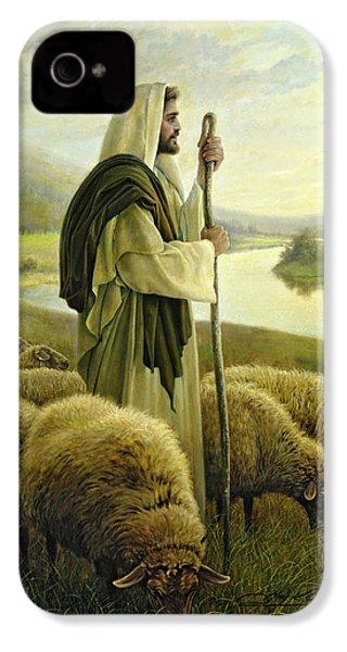 The Good Shepherd IPhone 4s Case by Greg Olsen