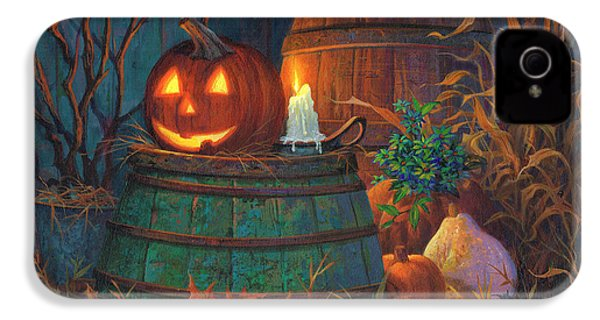 The Great Pumpkin IPhone 4s Case by Michael Humphries