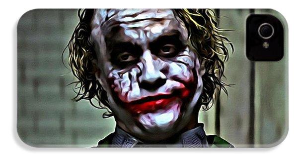 The Joker IPhone 4s Case by Florian Rodarte