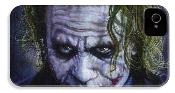 The Joker IPhone 4s Case by Tim  Scoggins