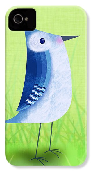 The Letter Blue J IPhone 4s Case