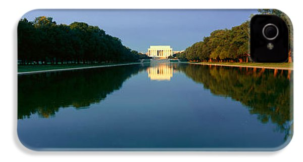 The Lincoln Memorial At Sunrise IPhone 4s Case by Panoramic Images