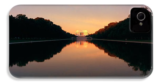 The Lincoln Memorial At Sunset IPhone 4s Case by Panoramic Images