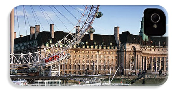 The London Eye And County Hall IPhone 4s Case by Rod McLean