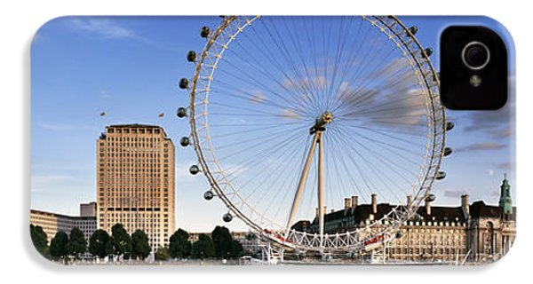 The London Eye IPhone 4s Case by Rod McLean
