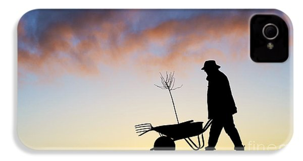 The Man Who Plants Trees IPhone 4s Case by Tim Gainey
