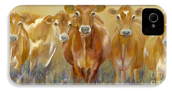 The Morning Moo IPhone 4s Case by Catherine Davis