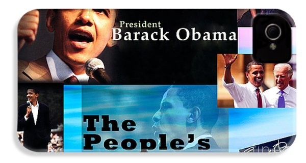 The People's President Still IPhone 4s Case by Terry Wallace