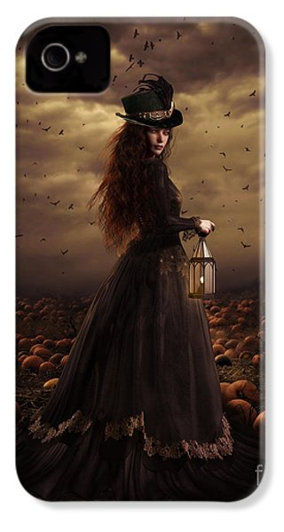The Pumpkin Patch IPhone 4s Case by Shanina Conway