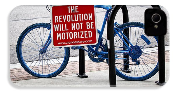 The Revolution Will Not Be Motorized IPhone 4s Case by Rona Black