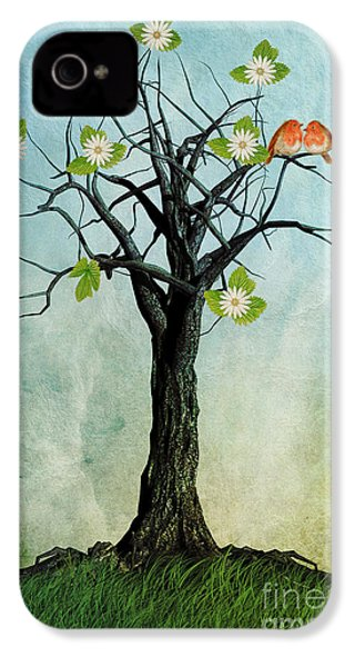 The Song Of Spring IPhone 4s Case by John Edwards
