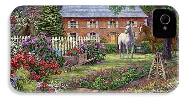 The Sweet Garden IPhone 4s Case by Chuck Pinson