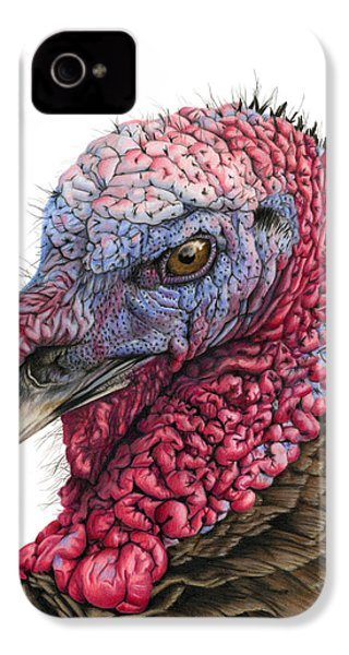 The Turkey IPhone 4s Case by Sarah Batalka