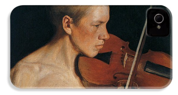 The Violinist IPhone 4s Case by Celestial Images