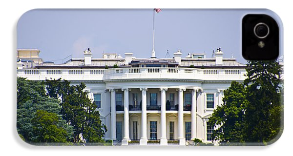 The Whitehouse - Washington Dc IPhone 4s Case by Bill Cannon