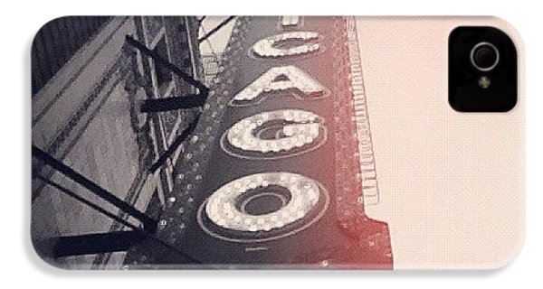 #theloop #chicago #chicagotheatre IPhone 4s Case by Mike Maher