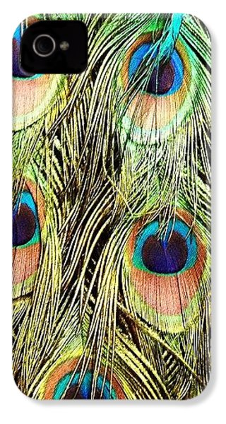 Peacock Feathers IPhone 4s Case