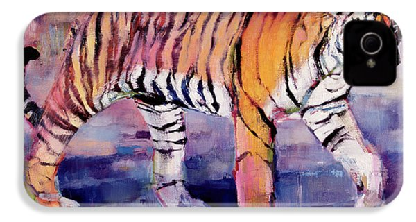 Tigress, Khana, India IPhone 4s Case by Mark Adlington