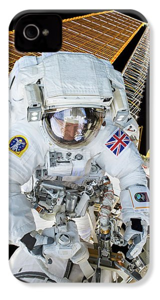 Tim Peake's Spacewalk IPhone 4s Case by Nasa