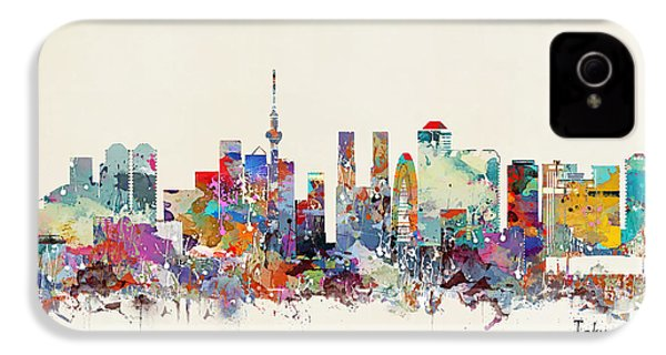 Tokyo Skyine IPhone 4s Case by Bri B