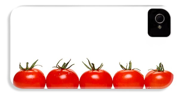 Tomatoes IPhone 4s Case by Olivier Le Queinec