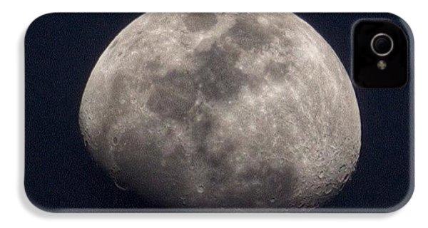 Tonight's Gibbous Moon #moon #night IPhone 4s Case