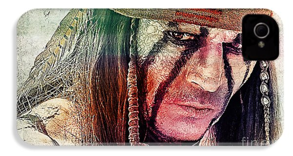 Tonto Painting IPhone 4s Case by Marvin Blaine