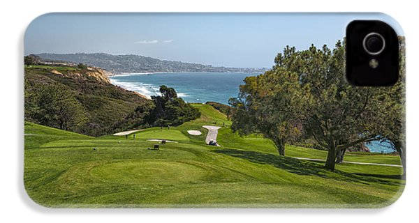 Torrey Pines Golf Course North 6th Hole IPhone 4s Case by Adam Romanowicz