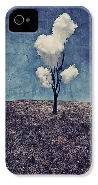 Tree Clouds 01d2 IPhone 4s Case by Aimelle