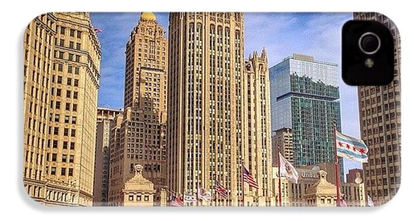 Tribune Tower And Dusable Bridge In IPhone 4s Case