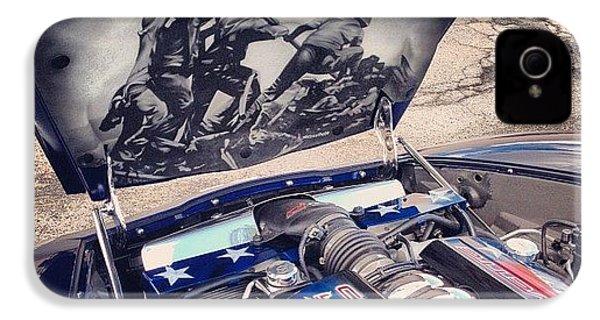 Tribute #corvette To All Veterans #usa IPhone 4s Case