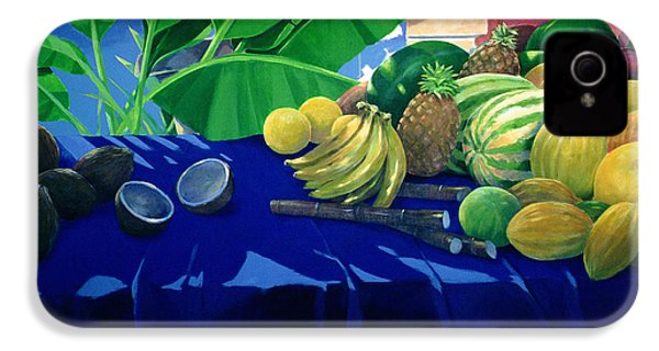 Tropical Fruit IPhone 4s Case by Lincoln Seligman