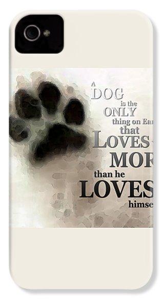 True Love - By Sharon Cummings Words By Billings IPhone 4s Case by Sharon Cummings