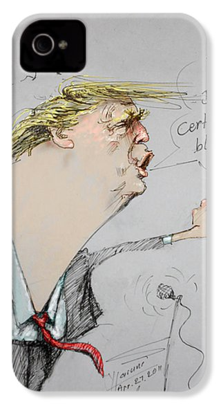 Trump In A Mission....much Ado About Nothing. IPhone 4s Case