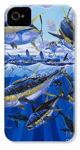 Tuna Rampage Off0018 IPhone 4s Case by Carey Chen