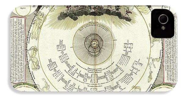 Tychonic Solar System IPhone 4s Case by Library Of Congress, Geography And Map Division